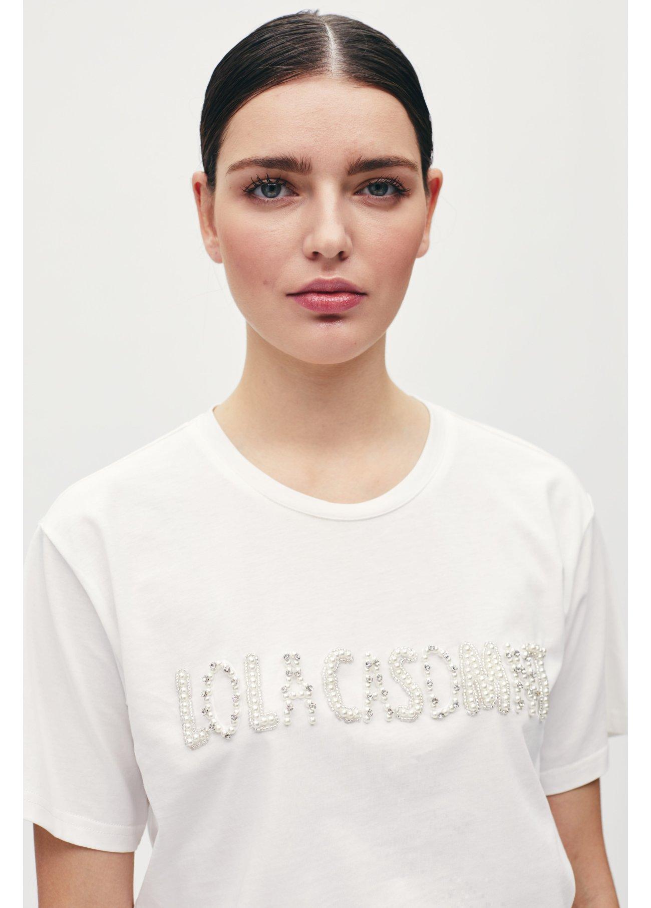 Camiseta logo perlas,  2