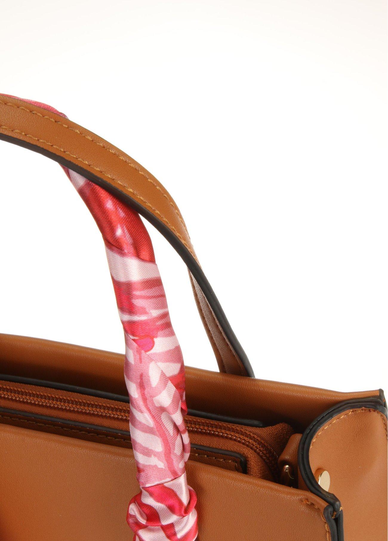 Bolso mini con pañuelo extraíble,  2