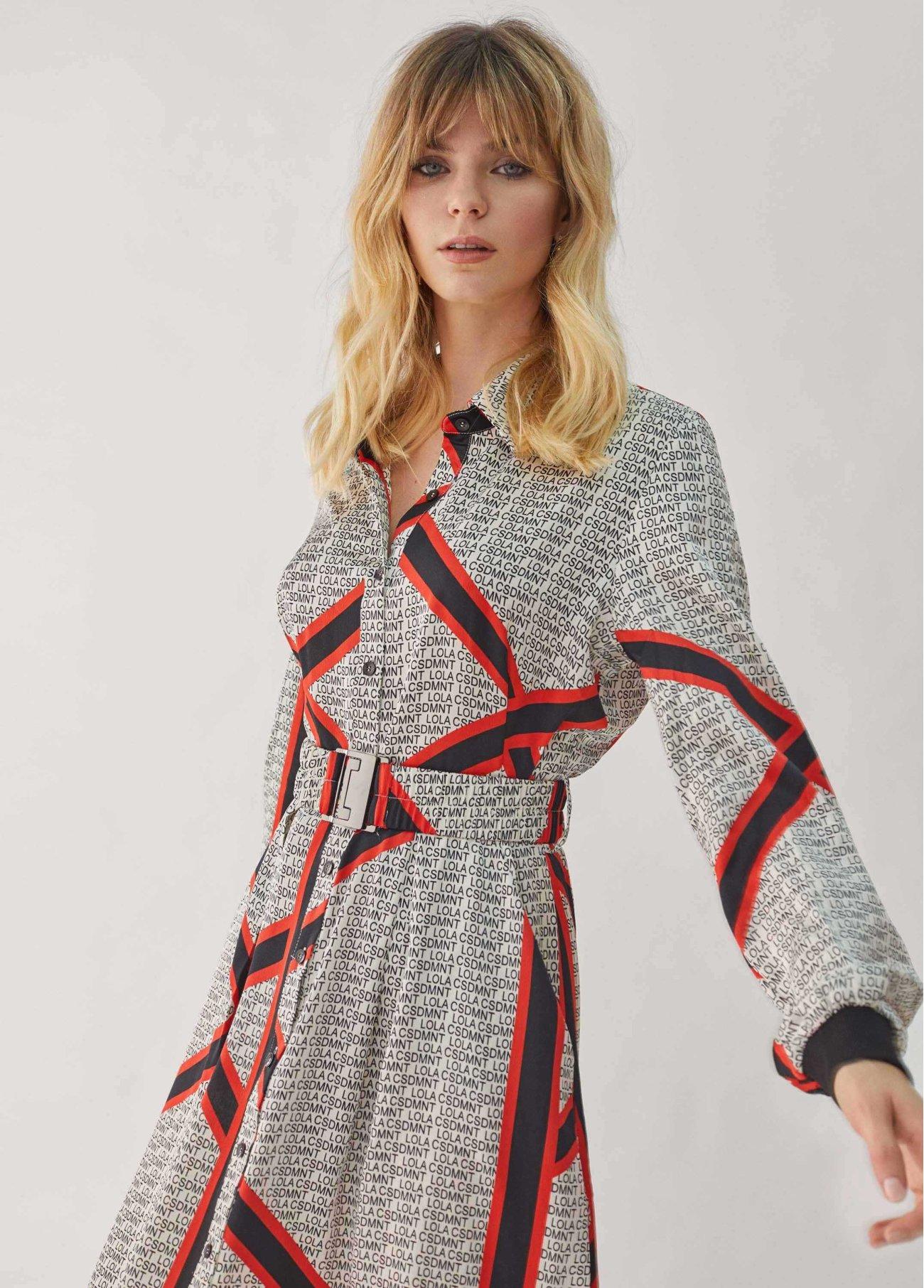 Vestido logomanía - Editors' Choice, crudo 2