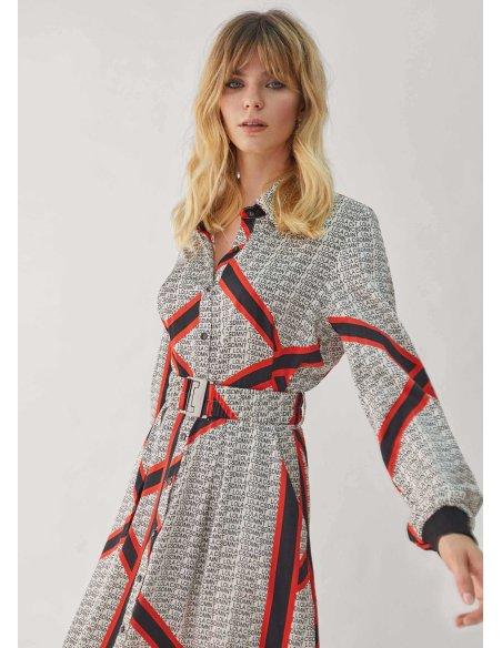 Vestido logomanía - Editors' Choice, crudo