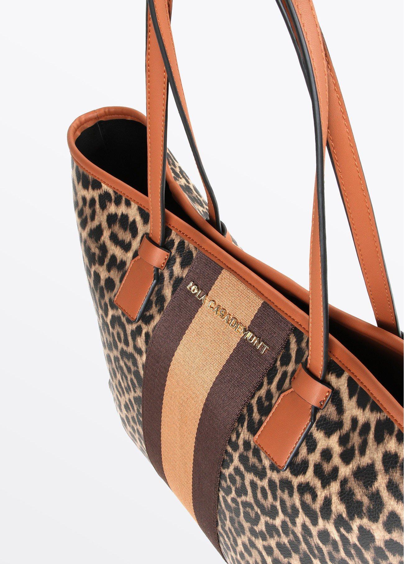 Bolso shopper leopardo, estampado 2