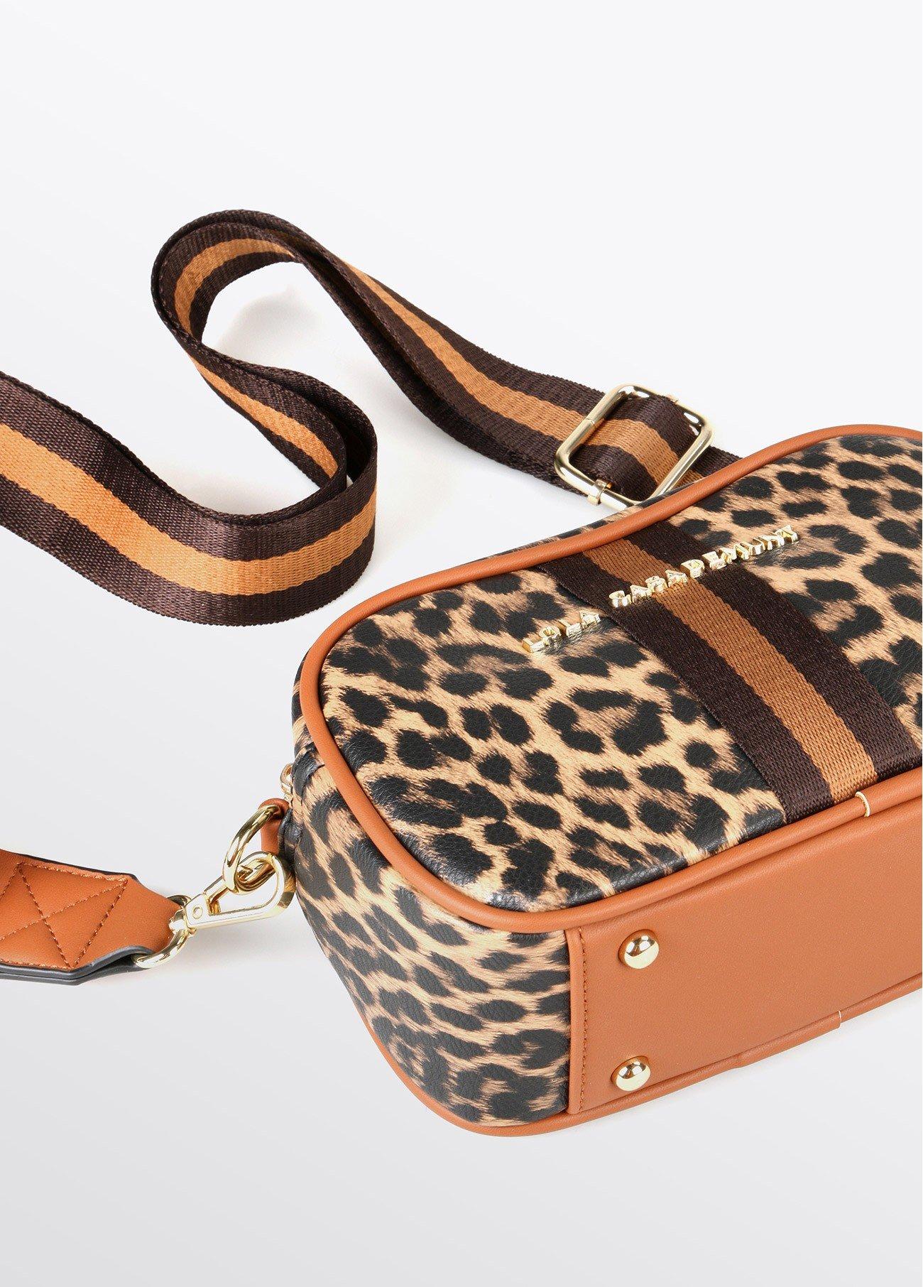 Bandolera leopardo, estampado