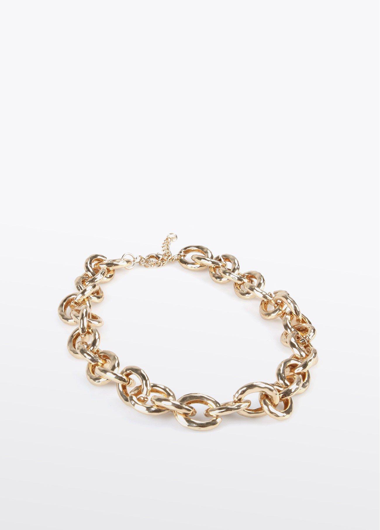 Collar cadena clásica, dorado 2