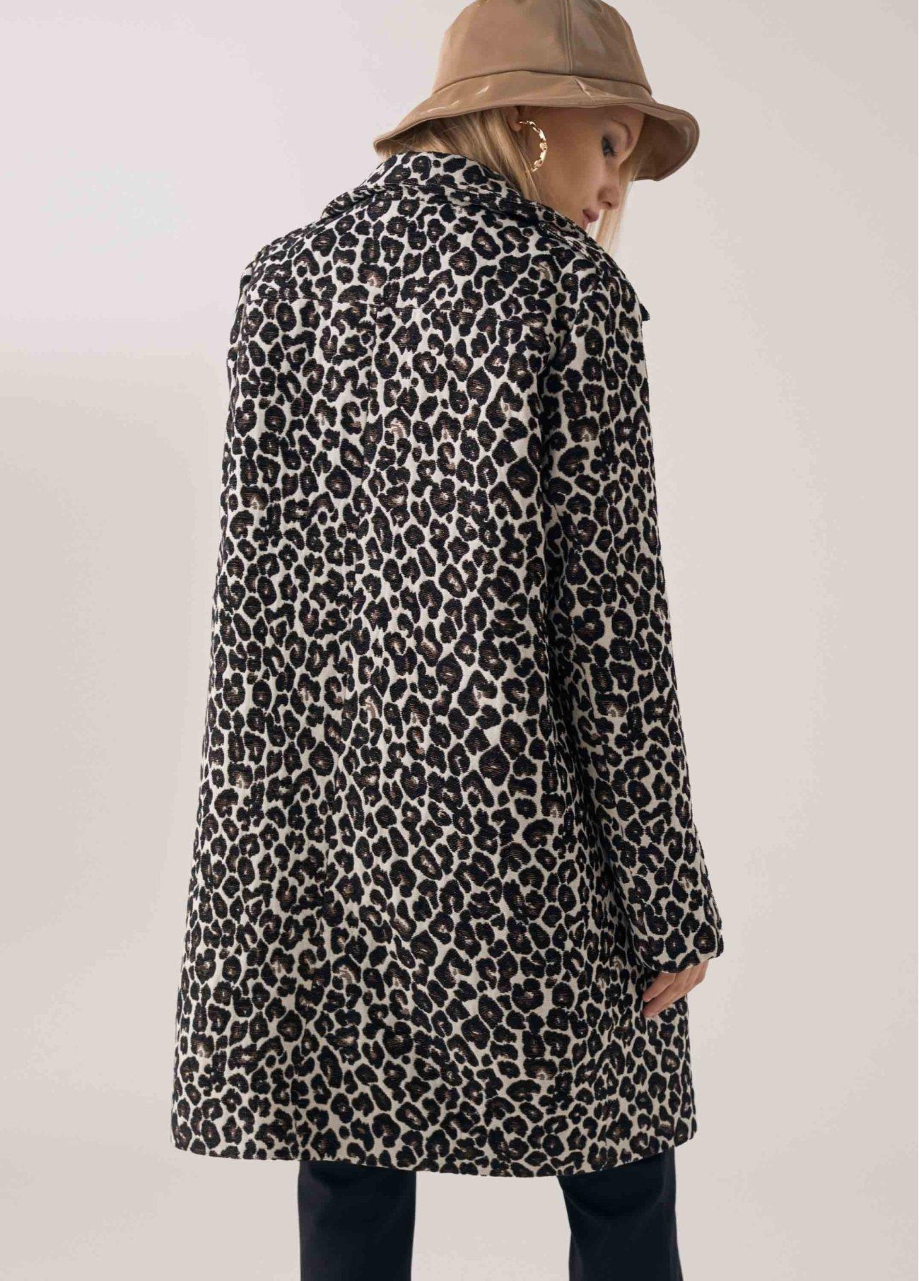 Abrigo ligero animal print, estampado 2