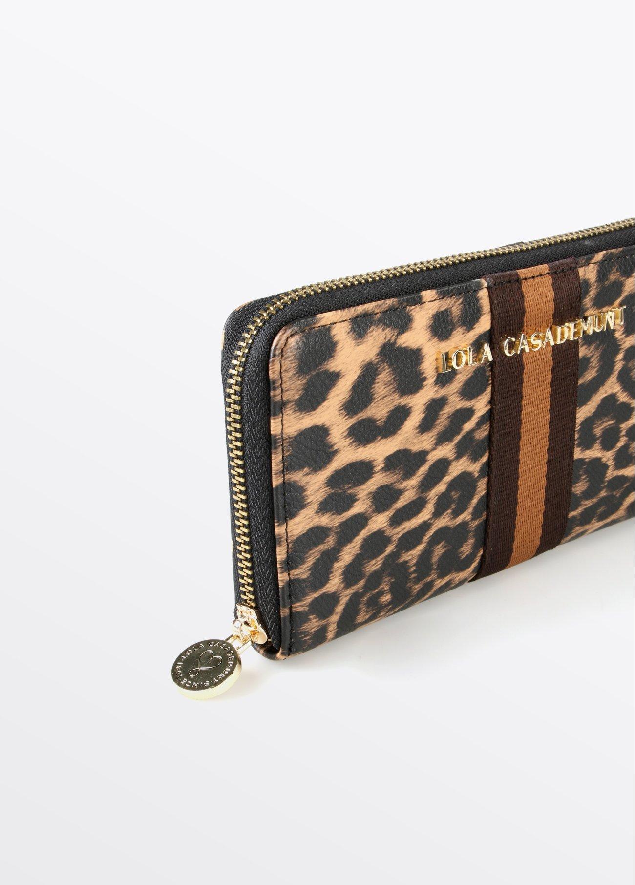 Monedero leopardo, estampado 2