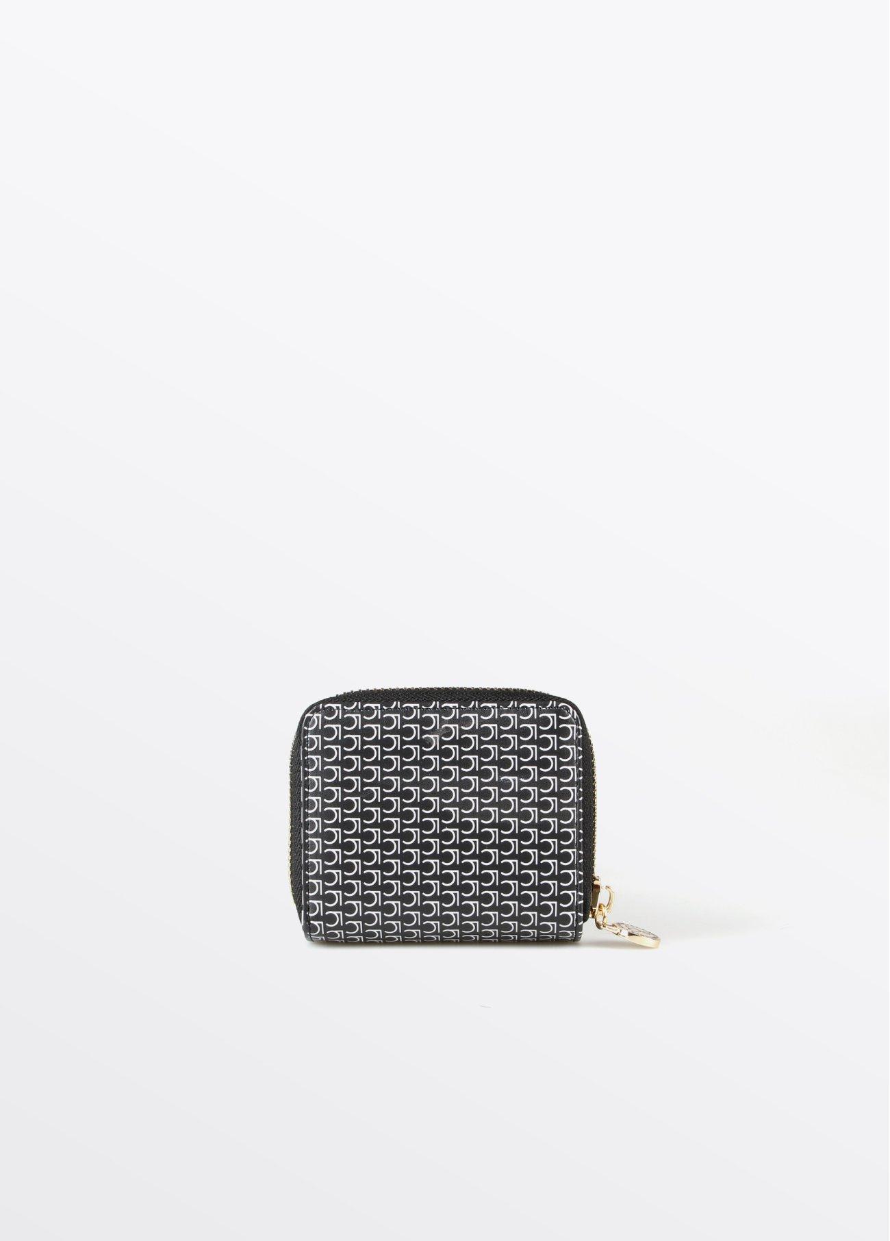 Monedero mini monograma, negro 2