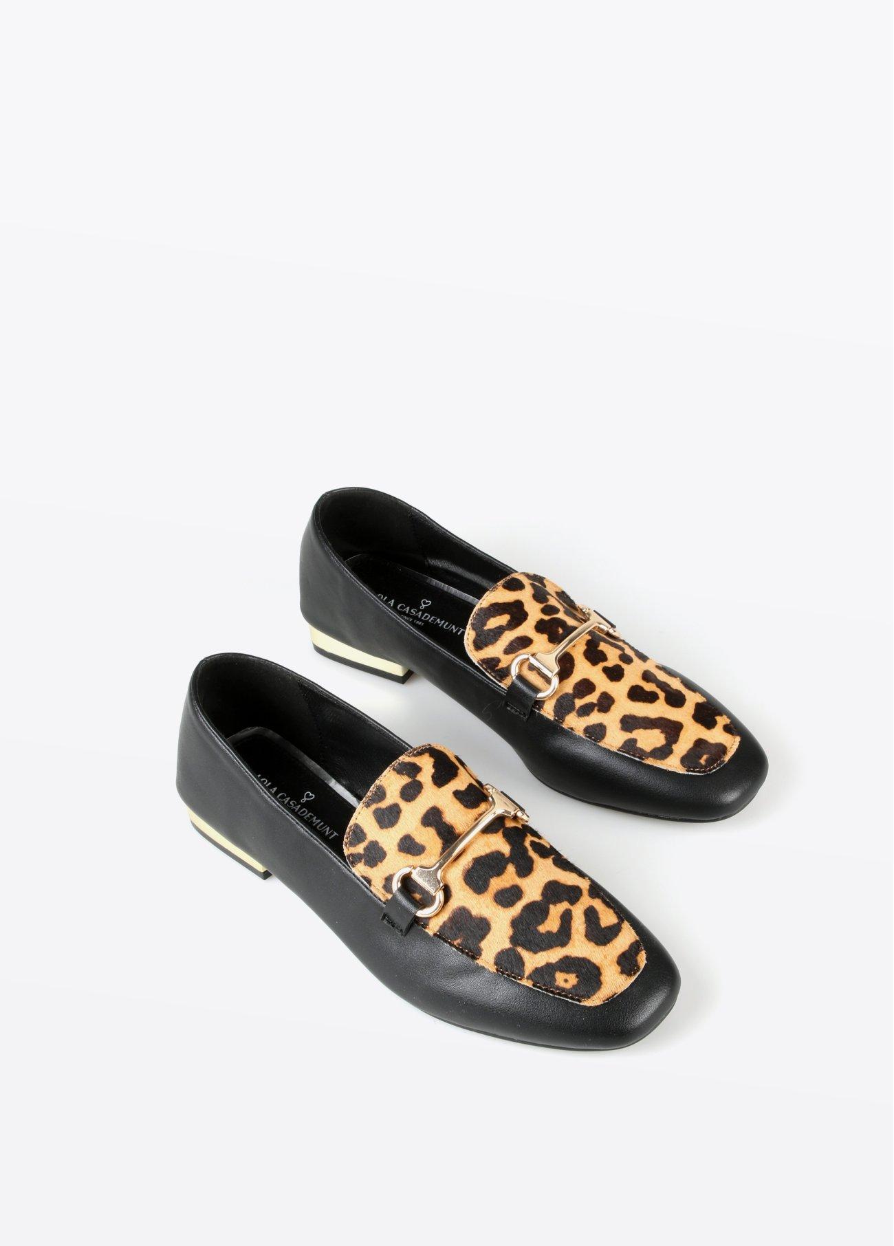 Mocasín leopardo, estampado 2